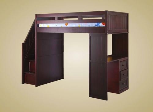 Twin Loft W/ Desk U0026 Cork Board