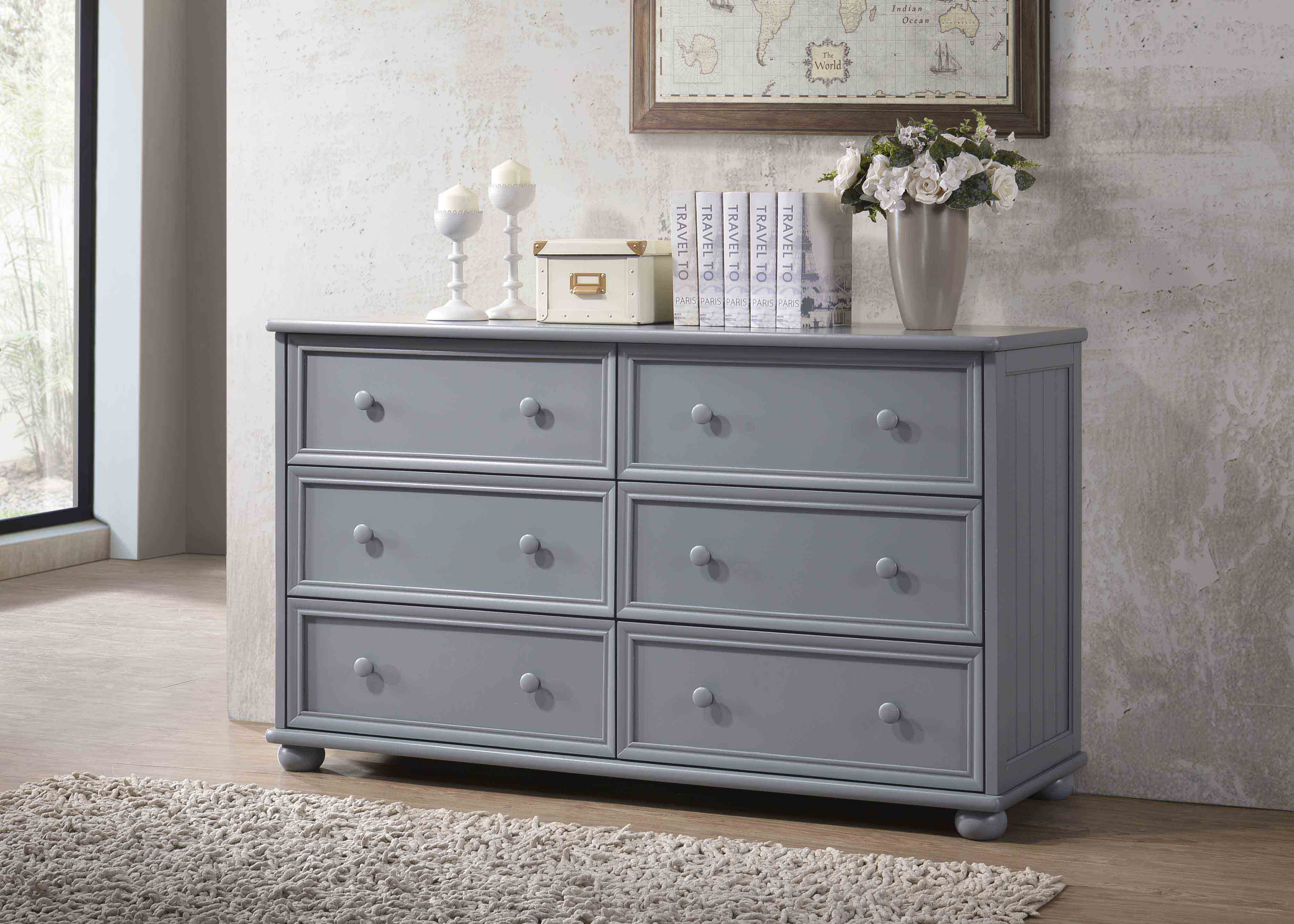 6 Drawer Dresser. J.A.Y. Furniture