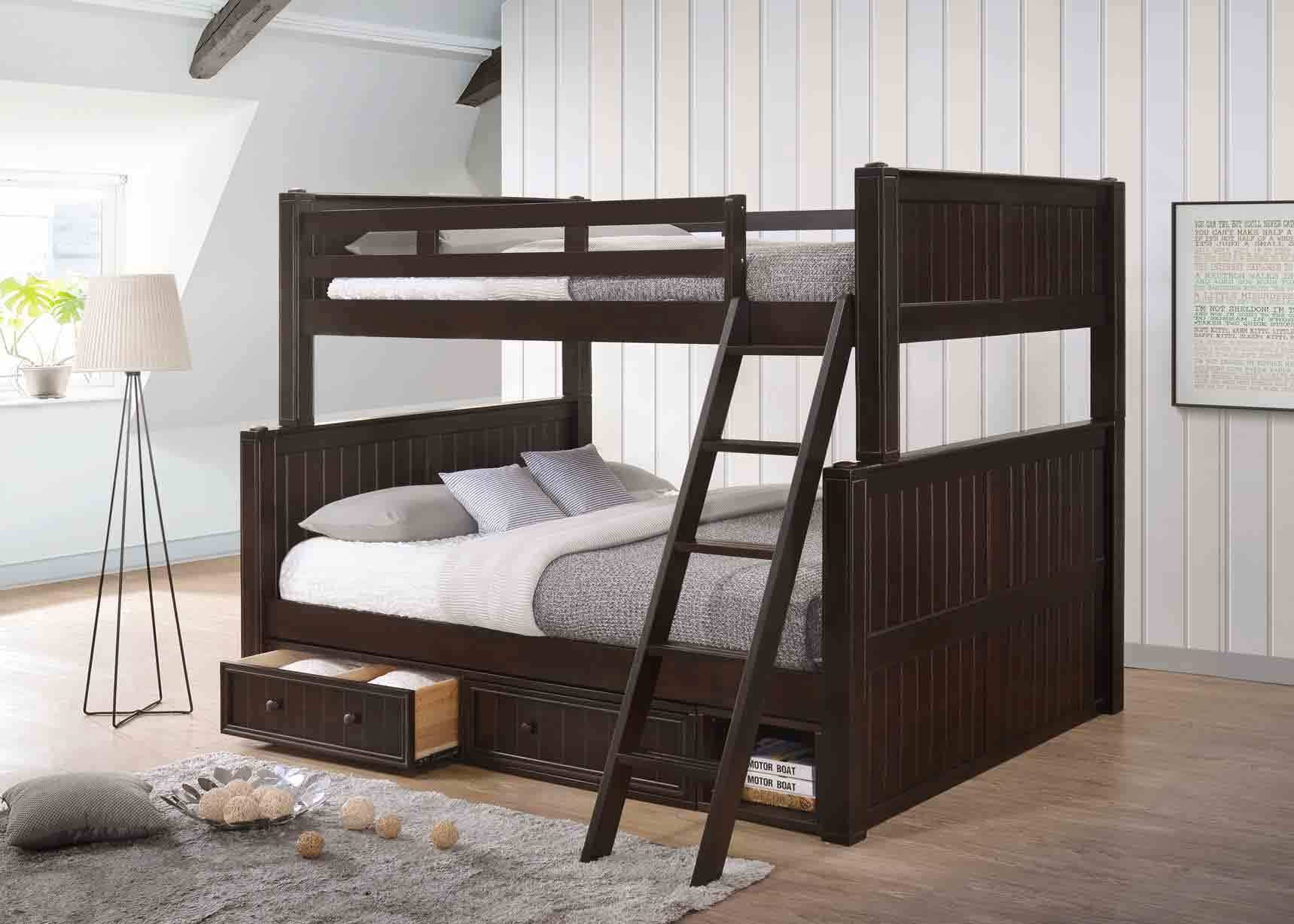 Picture of: Full Queen Bunk Bed J A Y Furniture Co
